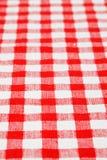 Tovaglia Checkered fotografia stock