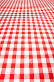 Tovaglia Checkered immagini stock