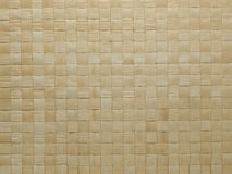 Tovaglia di bambù Fotografia Stock Libera da Diritti