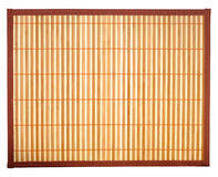 Tovaglia di bambù Fotografie Stock