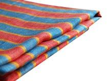 Tovaglia di tela a strisce Immagine Stock
