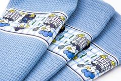 Tovaglioli del cotone Fotografia Stock