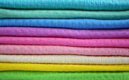 Tovaglioli di colore Fotografia Stock Libera da Diritti