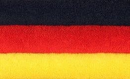 Tovaglioli tedeschi della bandierina Fotografie Stock Libere da Diritti