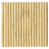 Tovagliolo asiatico da legno Fotografia Stock