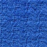 Tovagliolo blu Fotografie Stock