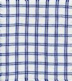 Tovagliolo Checkered fotografie stock