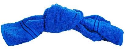 tovagliolo della tessile del nodo del bagno Immagine Stock