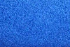 Tovagliolo di bagno blu Fotografia Stock Libera da Diritti