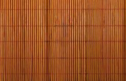 Tovagliolo di bambù usato Fotografia Stock Libera da Diritti