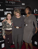 Tovah Feldshuh, Sheila Nevins e Gayle King immagine stock libera da diritti