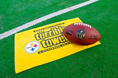 Tovel Питтсбурга Steelers ужасное стоковое фото rf