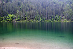 Tovel Lake, Dolomites Stock Photography