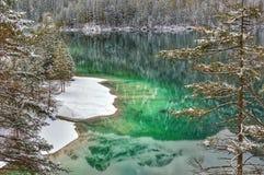 Tovel sjö Arkivbild
