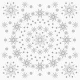 Tovenaarsster en elementenpatroon royalty-vrije illustratie