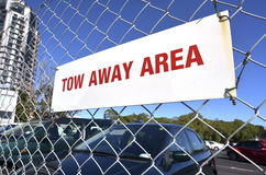 Free Tow Away Area Stock Photography - 41643052