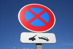 Free Tow Away Zone Stock Photos - 1226043