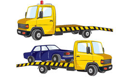 Tow Cars Stock Photography