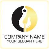 Tow Hook Vector Logo para remolcar la empresa de servicios stock de ilustración
