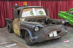 Tow mater towing Stock Image