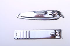 Tow nail clippers Royalty Free Stock Photos