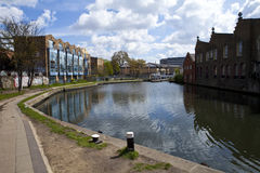 The Tow Path Along Regents Canal Royalty Free Stock Photography