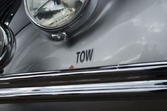 Tow point on car Stock Photo