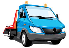 Tow truck Royalty Free Stock Photography