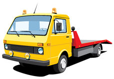 Tow truck Royalty Free Stock Photos