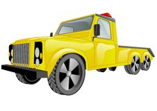Tow truck car Stock Image