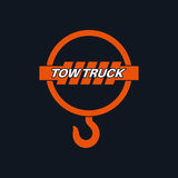 Tow truck icon Stock Photography
