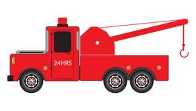Tow Truck pour le mouvement de voiture de secours Images libres de droits