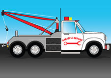 Tow Truck. Royalty Free Stock Photos