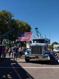 Tow Trucks, toca em um evento da comunidade do caminhão, Rutherford, NJ, EUA Fotografia de Stock
