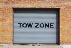Tow Zone Royalty Free Stock Image