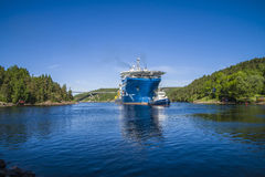 The towage of mv north sea giant has started Royalty Free Stock Photography