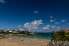 Towan beach, Newquay Royalty Free Stock Photography