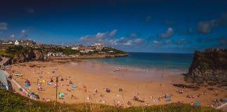 Towan beach, Newquay Stock Photo