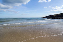 Towan Beach Cornwall Royalty Free Stock Images