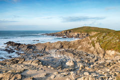 The Towan Headland at Newquay Stock Photos