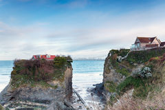 Towan Island in Newquay Royalty Free Stock Photography
