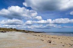 Towan strand Cornwall Royaltyfria Bilder