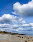 Towan strand Cornwall Arkivfoto