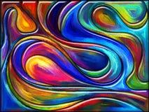 Toward Color Vortex Royalty Free Stock Image