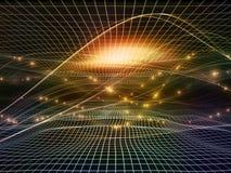 Toward Digital Fractal Realms Stock Image