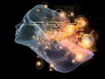 Toward Digital Intellect Royalty Free Stock Image