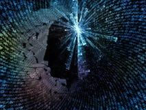 Toward Digital Intelligence Royalty Free Stock Photos