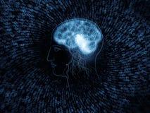 Toward Digital Intelligence Royalty Free Stock Photo