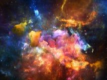 Toward Digital Space vector illustration