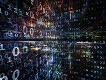 Toward Digital Technology Royalty Free Stock Image
